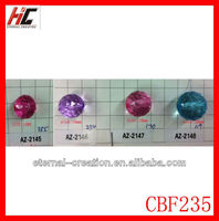 30mm chunky acrylic beads acrylic crystal bead large hole acrylic bead
