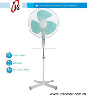 16 standing fan oscillating pedestal fan parts