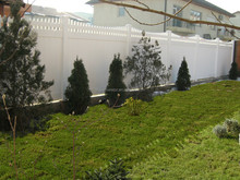 Seven Trust ASTM PVC Privacy fencing