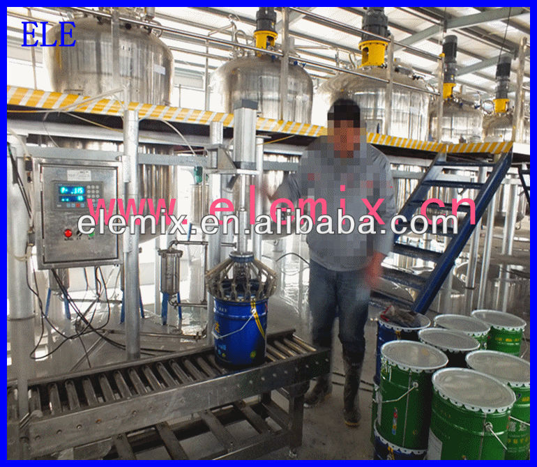 ELE turn-key complete water based paint production line