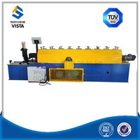 V Shape Dry wall Light Angle Steel Roll Forming Machine / C Z U V Shape Channel Purlin Roll Forming Machine