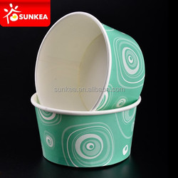 Colorful Disposable Icecream Cup, Ice cream paper cup