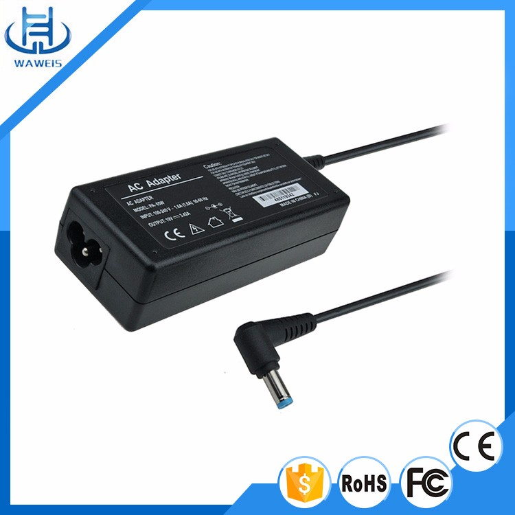 Best price and low MOQ 65w ac dc adapter 19V 3.42A power adapter for Acer