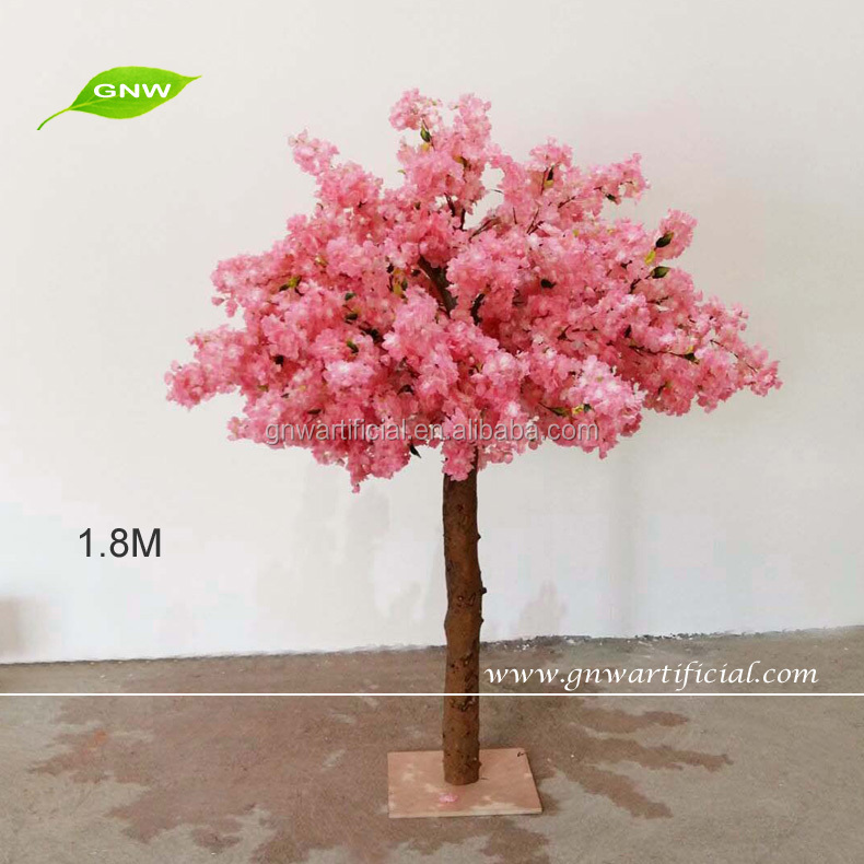 GNW BLS1605001 wholesale cheap indoor wedding decoration artificial cherry blossom tree