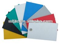 solid colored pvc sheet