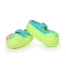 High Quality Fine Workmanship Hand Made Baby Crochet Wool Shoes