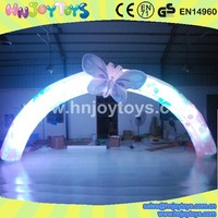 Alibaba best seller led inflatable arch/ christmas lights arch