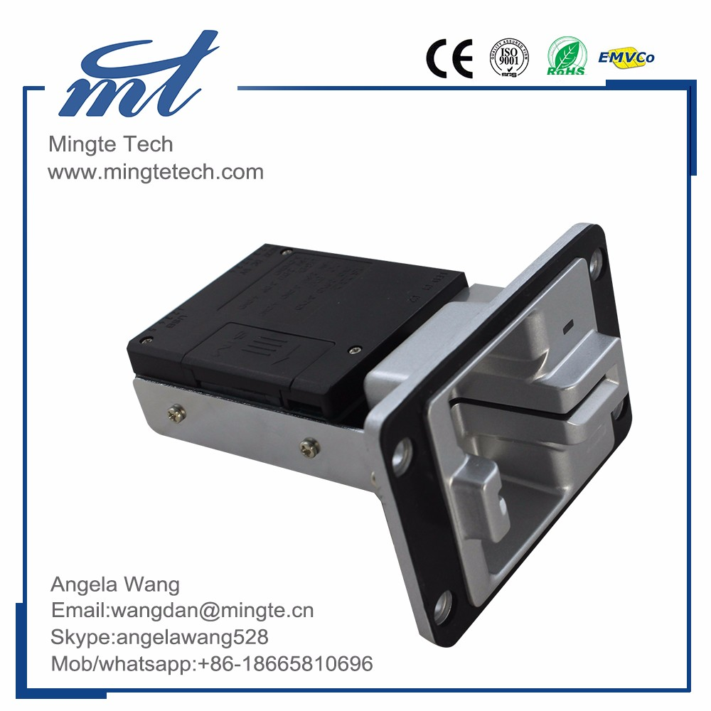 Embed Manual insertion contact contactless msr magnetic stripe card reader