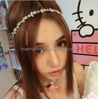 Holiday feeling super sweet princess style flower diamond fashion series ribbon hair band HP007