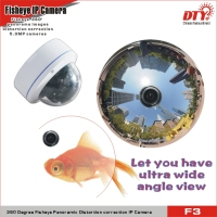 360 degree fisheye zoom camera fisheye lens for car,ip camera indoor,all in one ip network camera,F3