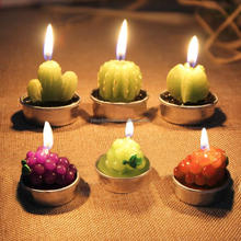 Table Tea Light Garden Simulation Plant Candle