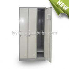 used metal bedroom wardrobe locker with hanger bar and shoes box