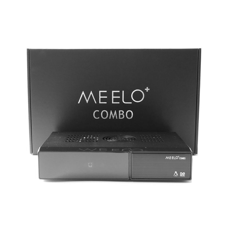 2017 newest HD Digital Satellite Receiver MEELO+ COMBO 3 in1 Combo DVB-S2+DVB-T2+DVB-C support Twin Tuner Enigma2 Linux System