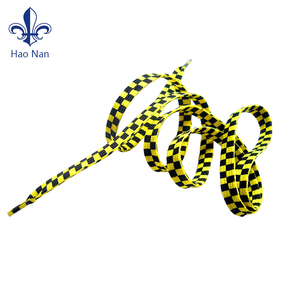 fashion silkscreen printed factory wholesale custom shoe laces shoelace for outdoor activity