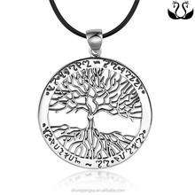 Europe and the united states exquisite elegance 925 silver tree of Life Pendant