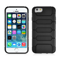 ARMOR SHELL for iPhone Air Case Double Layer Shock Absorbing Cover - Black / Black