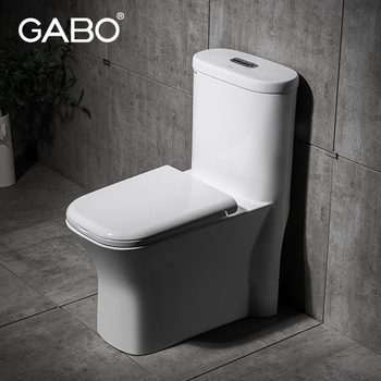 Western Style Modern Siphonic Toilet Bowl