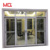 Standard aluminum sliding glass doors manufacturer in china