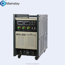 Alibaba recommend supplier IGBT 380v mig500 welding machine brand name welding equipment