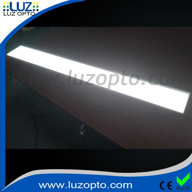 Custom size Single side LED advertising light panel display frame for store furniture