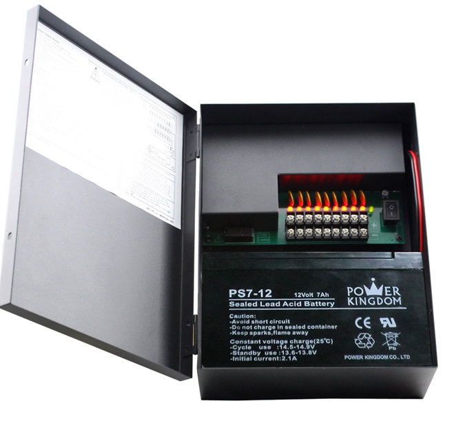 DC Constant Voltage CCTV power supply 12v dc battery backup power supply for LED,CCTV,IP Camera