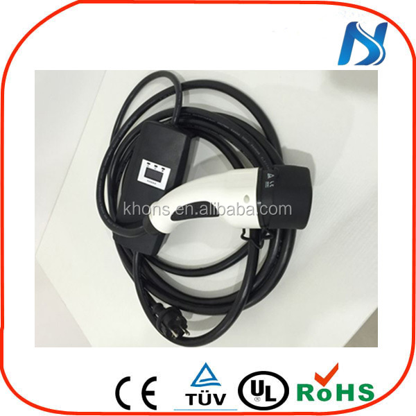 J772 or IEC 62196-2 ev charger home For Electric Vehicle Charging With CE, TUV Certificates