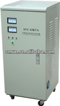 15kva SVC single phase high accuracy full automatic ac voltage stabilizers