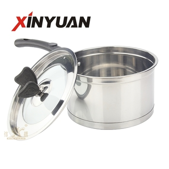 stainless steel with single handle Right angle soup set FT-01606B