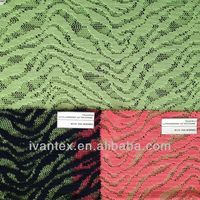 poly lace knitted fabric
