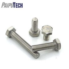 DIN 933 Stainless Steel Hex Bolts with Full Thread