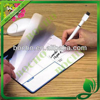 memo mouse pad with marker