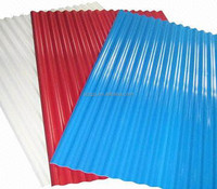 Factory direct sale Construction Roof Prepainted Color Zinc Coated Corrugated Steel Roofing Sheets
