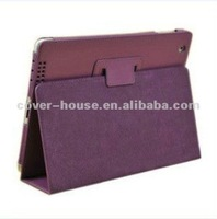 2012 Top Fashion leather case for iPad2/3