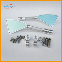 New Design good performance CNC Alloy Aluminum Universal scooter mini motorcycle mirrors