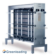 Plate type heat exchanger 316 stainless steel plates price for milk pasteurization