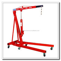 1Ton Foldable Manual Shop Crane With Cheap Price