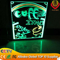 handwriting display board manufacture 2016 china new innovative product led neon writing board