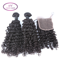 2016 New Arrival Top Quality Thick Ends Large Stock Best Selling Products Short Curly Peruvian Hair Extensions hair human