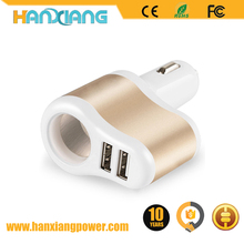 Multifunctional Mobile Phone Accessories 5V 2A Car Battery Micro USB Car Charger Dual Port For Mobile Phone