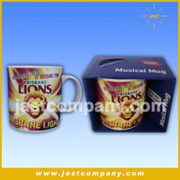 Musical Bone China Custom Coffee Mug