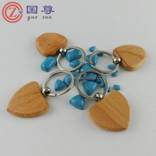 Wholesale Handmade Wooden Keychains /Small Wooden Keyring
