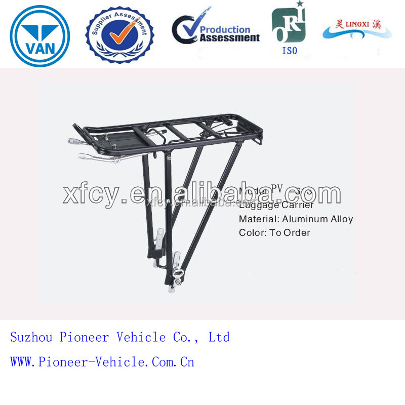Easy Assembled Luggage Carrier for Bicycle/Bike PV-613(ISO Approved)