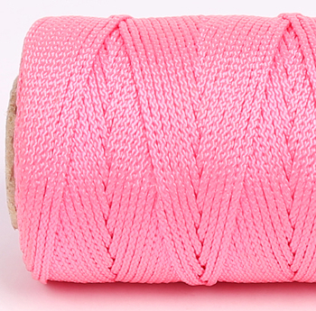 All Purpose 10mm 16 strands Pink color Polypropylene Fiber Braided Package Rope