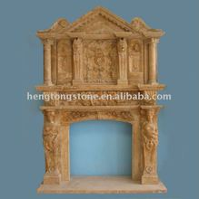 Magnificent Mantle and Over Mantle Fire Surround