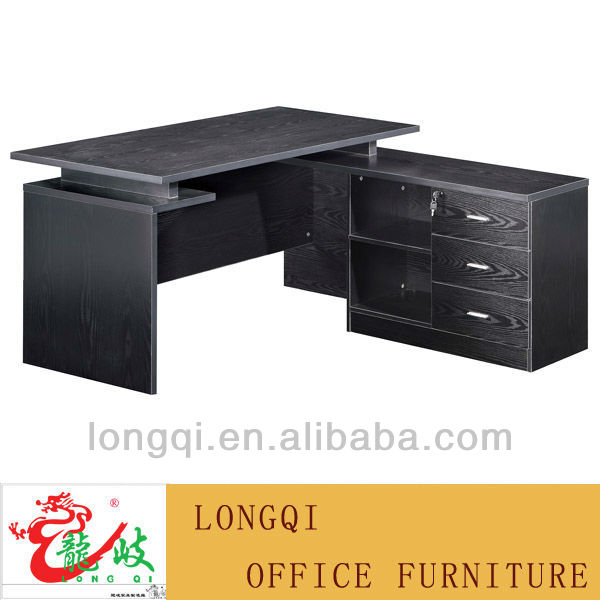 modern cheap with side cabinet wooden conbination office ceo table teacher desk staff desk office design