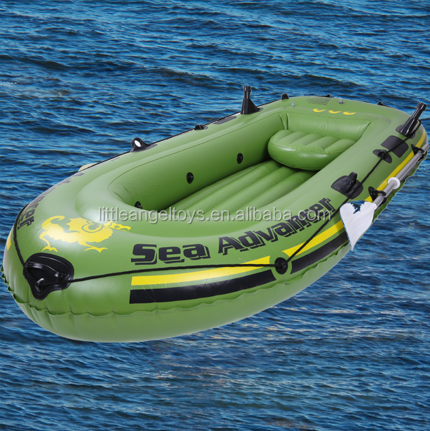 Wholesale Aluminun paddles Inflatable three person <strong>boat</strong>