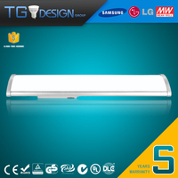 High Quality CE ROHS SAA LED Low Bay Light 40W 60W 80W 2ft 4ft 5ft with 5 Years Warranty