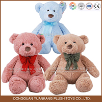 100% cotton wholesale colorful small teddy bear plush soft toy