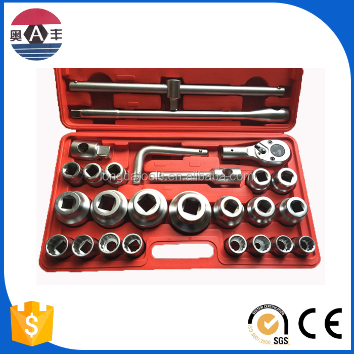 China Golden Supplier 26pcs Metric Cr-V 3/4 Dr Rc Car Tool Kit