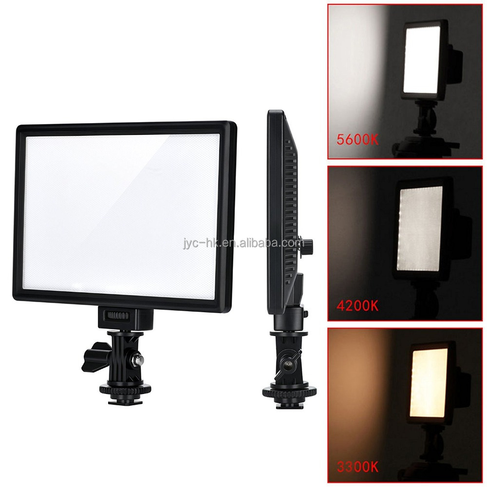 Viltrox L116T Super Slim Panel Film Shooting Studio LED Light